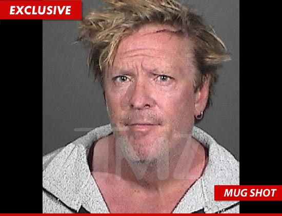 Michael Madsen mug shot after being arrested