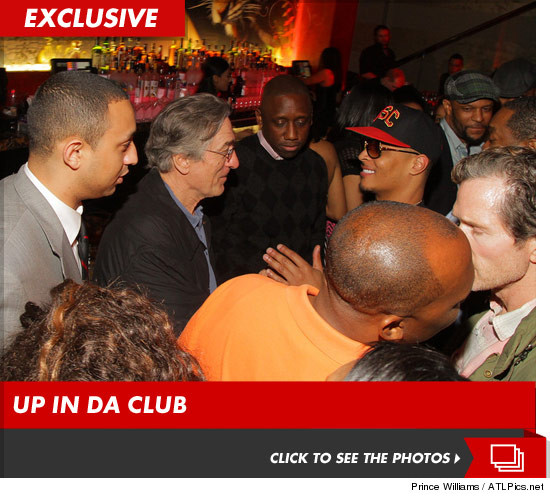 Just Robert De Niro and T.I. chilling