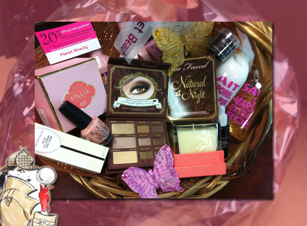 Gift Baskets For Womens Shelter : Win a planet beauty gift basket toofab