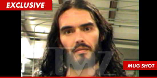 Russell Brand mug shot