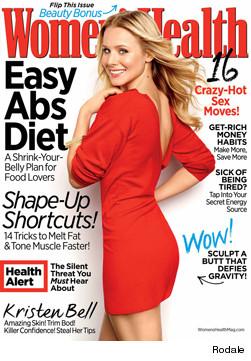 Kristen Bell Women's Health