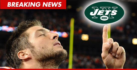 Tim Tebow has just been traded from the Denver Broncos