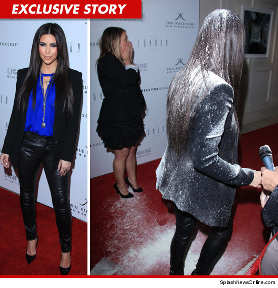 Kim Kardashian was assaulted Thursday night.