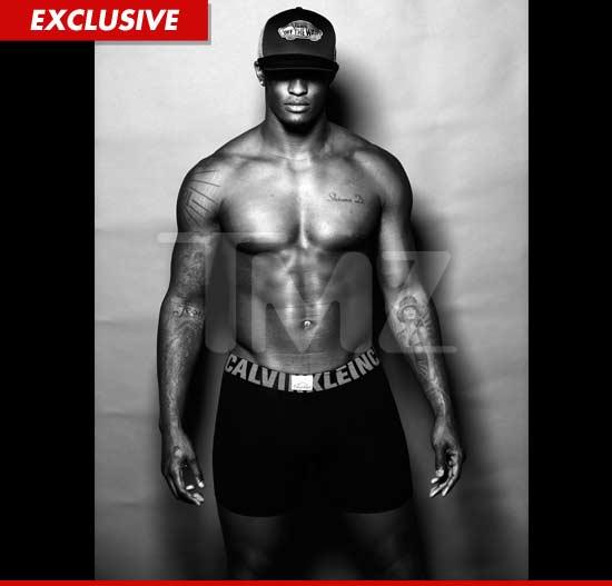 Will Blackmon shirtless and posing