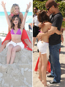Ashley Benson and Lucy Hale: Pretty Little Beach Bums