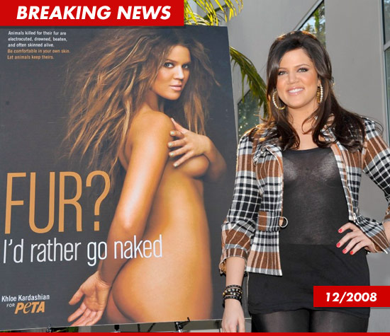 Khloe Kardashian is cutting off all ties with PETA