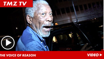 Morgan Freeman -- Who's Got the Pipes for My Life Story?