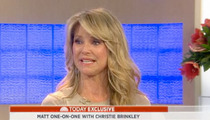 "Christie Brinkley Breaks Down On ""Today"""