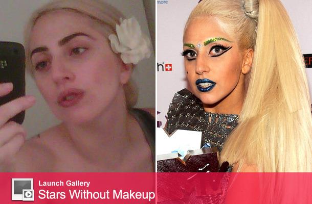 Lady Gaga Tweets Makeup-Free Photo!