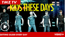 The Wanted -- The New New Kids' Fans are Bananas