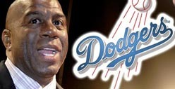 Magic Johnson LOVES LA Dodgers -- Drops $2 BILLION to Purchase Team