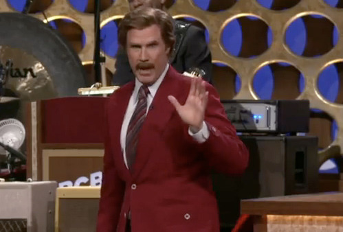 "Video: Will Ferrell Announces ""Anchorman 2"" as Ron Burgundy!"