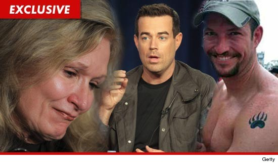 The mother of one of the Flight 93 heroes wants Carson Daly to know ... gay ...