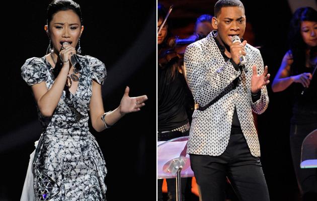 """American Idol"" Hopefuls Nail Mariah, Beyonce on Spectacular Night"
