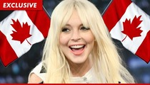 Lindsay Lohan -- Approved to Work in Canada, Eh
