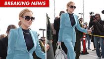 Lindsay Lohan Blazes Into Court