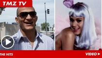 UFC Champ Junior dos Santos -- Bonafide Badass ... Superfan of Katy Perry & Adele