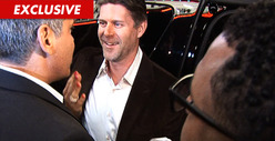 'Real Housewives of O.C.' Slade Smiley -- Attacked on Red Carpet for Deadbeat Dad Payments [VIDEO]