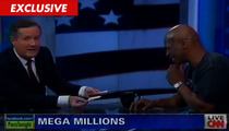 Mike Tyson -- I'm Giving HALF My Lottery Winnings to Piers Morgan