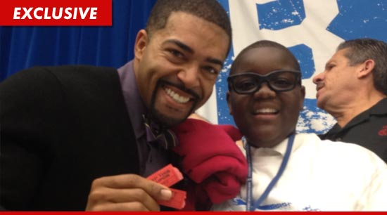 WWE star (and Harvard Law grad) David Otunga