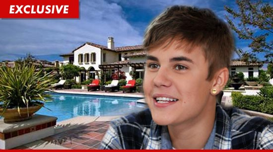 Justin Bieber has haggled his way to Calabasas