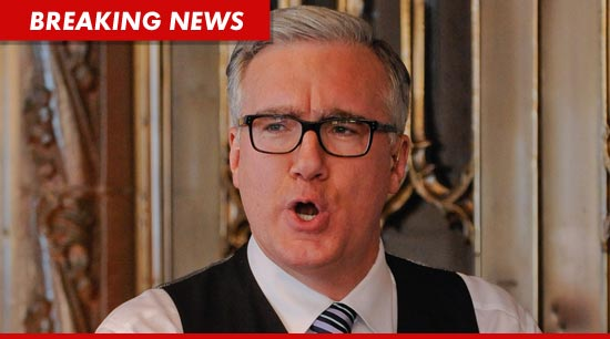 Keith Olbermann is officially unemployed ... again.