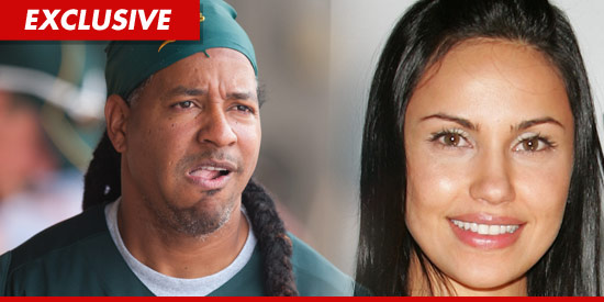 Manny Ramirez and wife Juliana