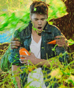 Justin Bieber, Will Smith Get Slimed at the Kids&#039; Choice Awards