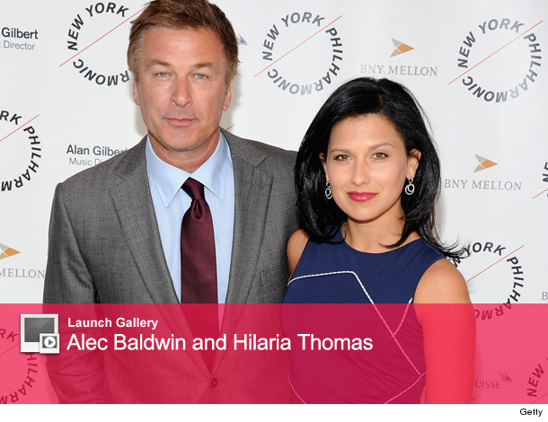 ALEC Baldwin Engaged to Hilaria Thomas -- See The Ring! | tooFab.
