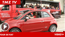 Fiat 500 Challenge -- Top Down Edition ... Anna vs. Shevonne