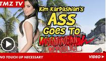 Kim Kardashian -- Bikini Butt Au Natural