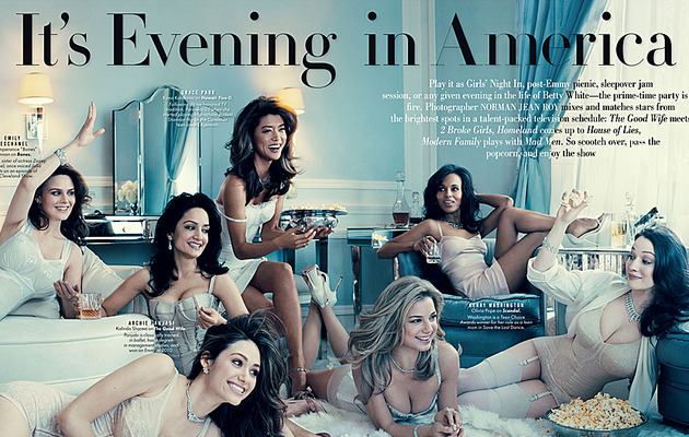 TV Starlets Strip Down For Vanity Fair
