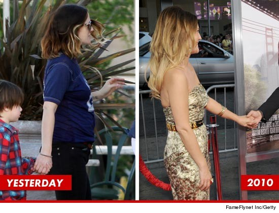 Drew Barrymore pregnant?
