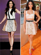 Dueling Dresses: Megan Fox Versus Selena Gomez