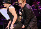Elton John Gets Channing Tatum in a Pinch