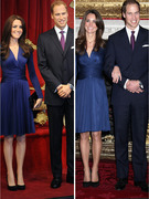 Prince William and Kate&#039;s Super-Realistic Wax Figures Revealed
