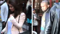 Kim Kardashian & Kanye West -- Out to Lunch