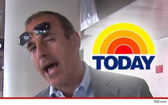MATT LAUER Re-Signs with 'Today' -- Ann Curry On Chopping Block | TMZ.