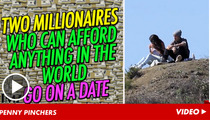 Justin Bieber and Selena Gomez -- Rich People, Cheap Date
