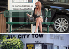 Amanda Bynes -- Legs It to the Impound Lot