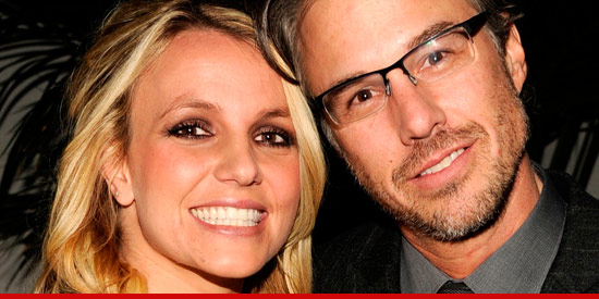 Britney Spears and her fiance Jason Trawick