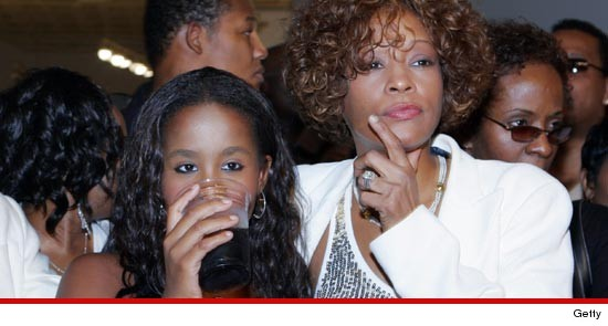 Bobbi Kristina and Whitney Houston
