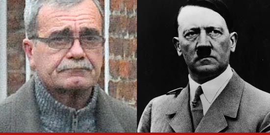 Hitler and his alleged grandson