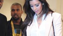Kourtney Kardashian Coy on Kim & Kanye Relationship