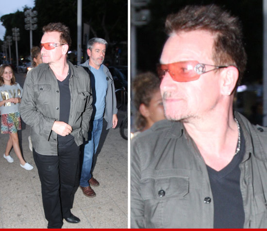 Bono celebrated Passover like a good little goy
