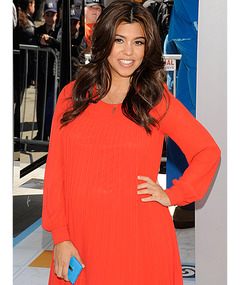 Kourtney Kardashian Talks Baby Names