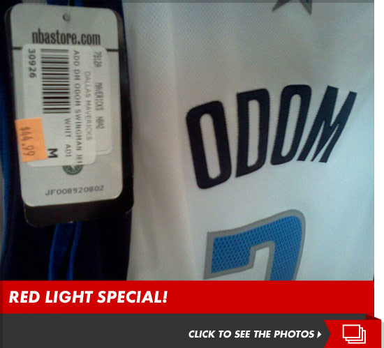 Lamar Odom Dallas Mavericks jersey on sale