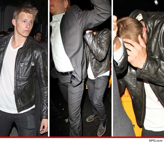 Alexander Ludwig at The Sayers Club in Hollywood.