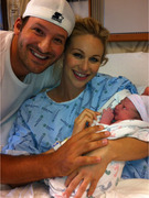 Tony Romo & Candice Crawford Share Baby's First Photo!