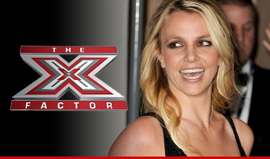 Britney Spears and X Factor have struck a deal